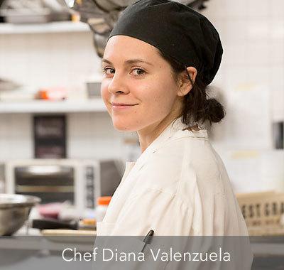 Chef Diana Valenzuela