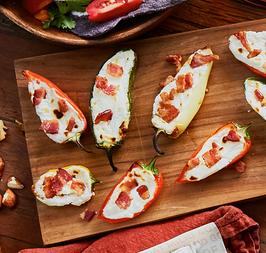 Laura Chenel Goat Cheese Jalapeno Poppers